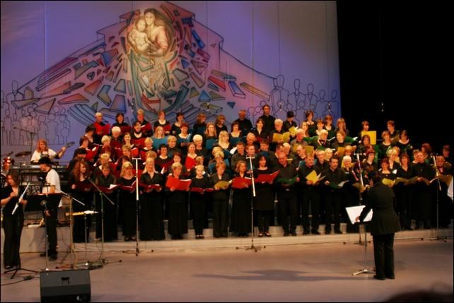 """17.10.2008 Lausitzhalle Hoyerswerda, Wiederaufführung """"Sixtinische Madonna"""""""