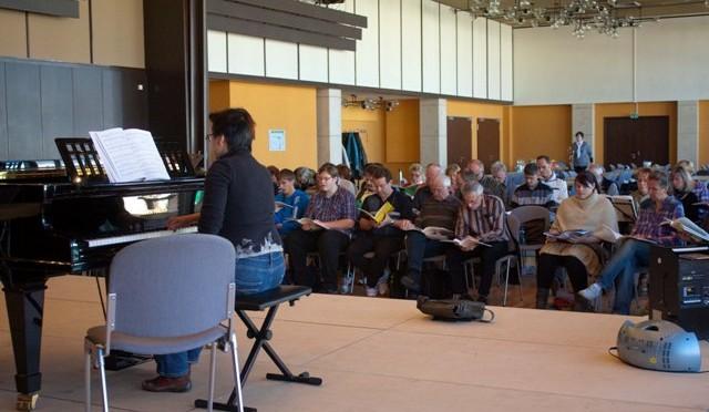Probenlager 14.- 16.10.2011 Lausitzhalle Hoyerswerda