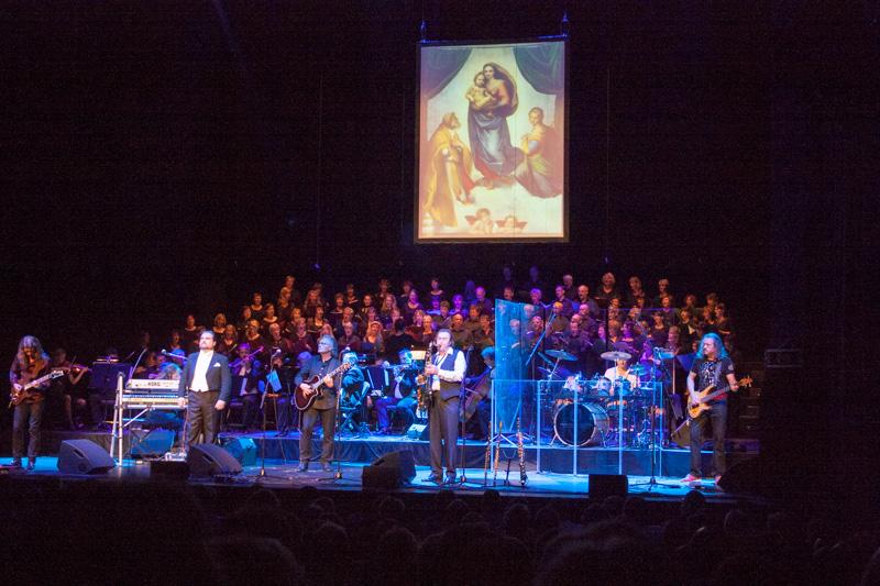 unser Chor am 26.08.2012 im Schauspielhaus Dresden