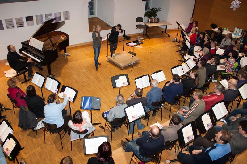 19.01.2013 Einsingen mit Anne Schab