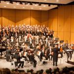 """Eröffnungskonzert der 48. Musikfesttage in der Lausitzhalle Hoyerswerda mit """"Magnificat"""" von John Rutter"""