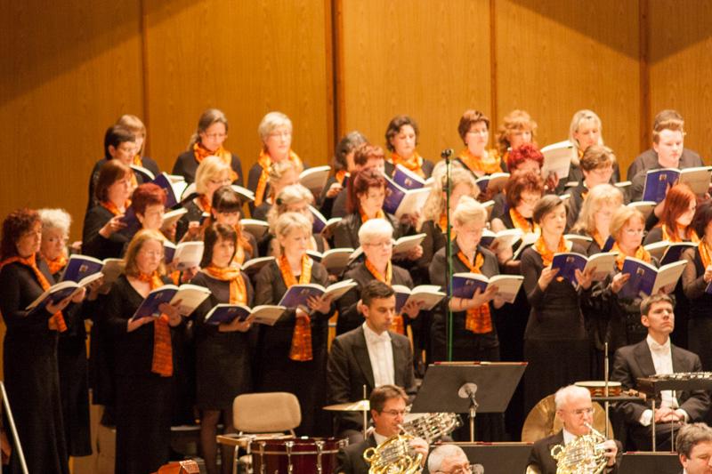 """""""Magnificat"""" 14.04.2013 mit Chor und Neuer Lausitzer Philharmonie"""