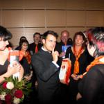 20.04.2013 Dank an den Dirigenten der Neuen Lausitzer Philharmonie Andrea Sanguinetti