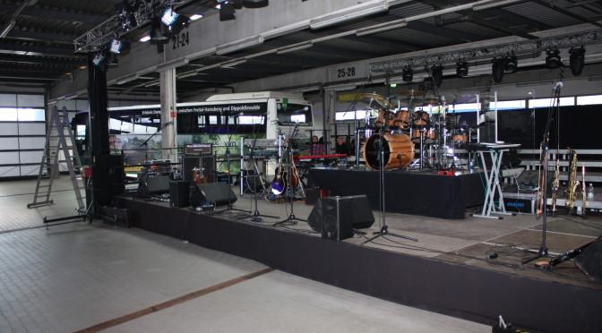 Annaberg, das Konzert in der Busstation