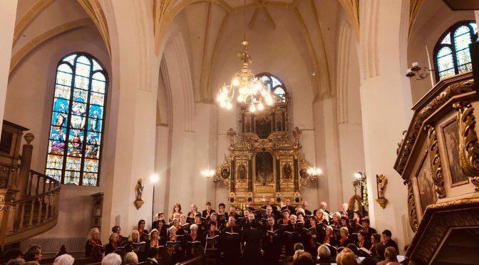 Unser Auftritt in der Kreuzkirche Spremberg